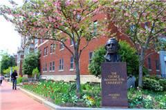 2019年QS乔治·华盛顿大学世界排名最新排名第345