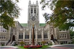 2019年QS波士顿学院世界排名最新排名第376