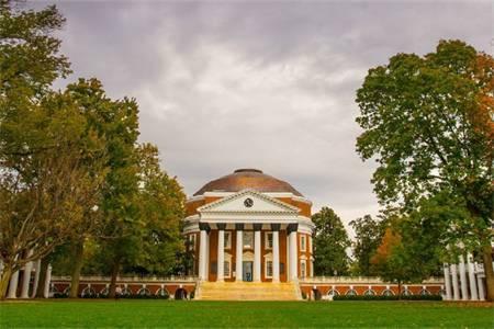 弗吉尼亚大学世界排名最新排名第198(2020年QS世界大学排名)