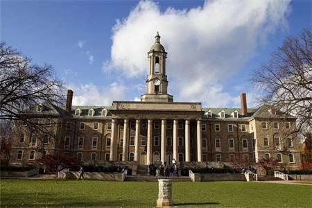 宾夕法尼亚州立大学(帕克校区)世界排名最新排名第77(2018年THE世界大学排名)