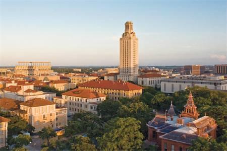 德州大学奥斯汀分校世界排名最新排名第67(2018年QS世界大学排名)