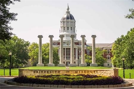 密苏里大学世界排名最新排名第483(2021年QS世界大学排名)