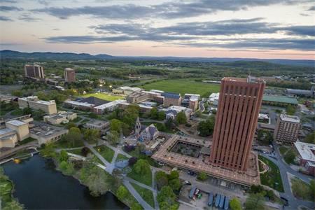 麻省大学阿莫赫斯特分校世界排名最新排名第305(2020年QS世界大学排名)
