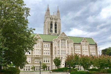 波士顿学院世界排名最新排名第454(2021年QS世界大学排名)