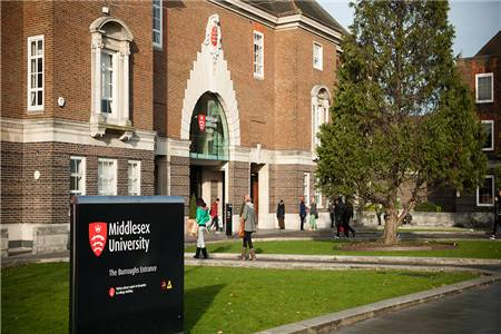 米德塞斯大学排名第109(2020年卫报英国大学排名)