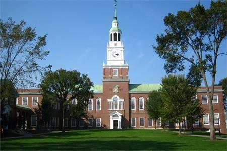 达特茅斯学院排名第11(2018年USNEWS美国大学排名)