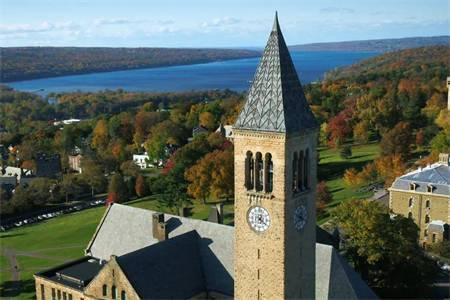 康奈尔大学世界排名最新排名第14(2017年ARWU世界大学排名)