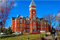 克莱姆森大学美国大学排名