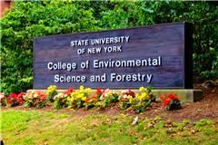 纽约州立大学环境科学与林业科学学院国内认可度