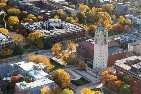 密歇根大学安娜堡分校建筑世界排名2018年最新排名第37(QS世界排名)